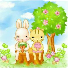 胡萝卜和小白兔