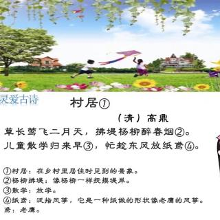 村居环保宣传展板前言