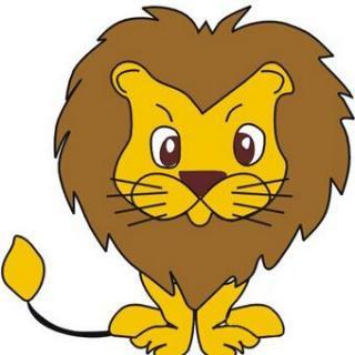 微信头像狮子黑白