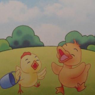 小鸭子和小公鸡头饰-在线收听 豆包儿爱听的故事 荔枝FM图片