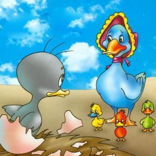 夏天姐姐讲故事|丑小鸭图片
