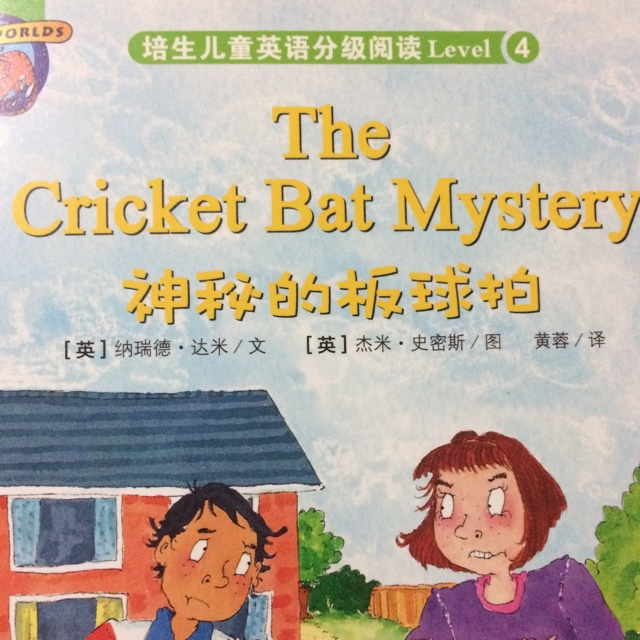 The Cricket Bat Mystery