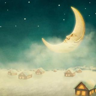 睡前故事 月亮和星星图片