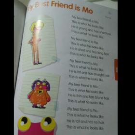 【辰辰唱英文歌】- My best friend is Mo
