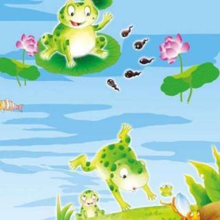 是保护庄稼的小青蛙,你们要努力学习,积攒自己的力量,这样你才能实现