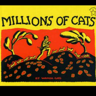 【亲爱的晚安】一百万只猫Millions of cats