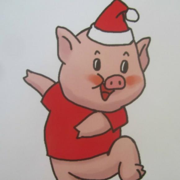 猪哭的图片可爱