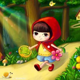 《小红帽》—影响孩子成长的一百个故事