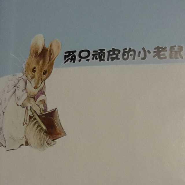 两只顽皮的小老鼠(上)