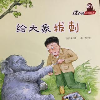 沈石溪动物绘本 | 给大象拔刺