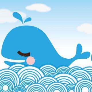 《海洋里骄傲的蓝色小鲸鱼》主播:姗姗姐姐
