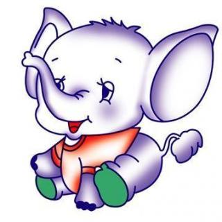 """动物们笑哈哈地说:""""小象的鼻子"""
