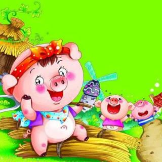 维尼老师讲故事 小猪种苹果  2017-02-19
