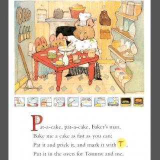 【鹅童谣妈妈视频】25Pat-a-cake,pat-a-cake;.经典图片