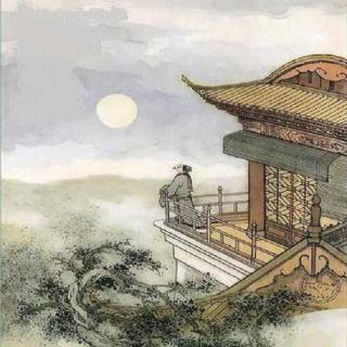 每天一首古诗词:夜宿山寺图片