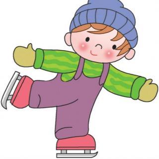 351期绘本-滑冰真有趣.