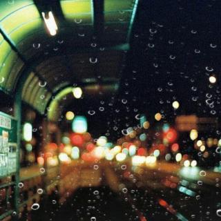 下雨的夜晚