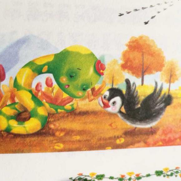 动物故事(八)爱打瞌睡的小蛇
