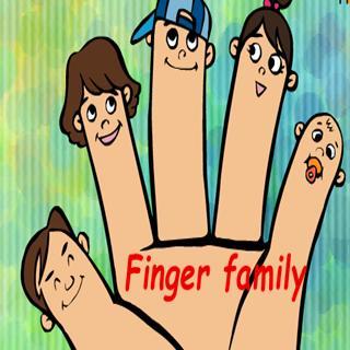 【学习身体部位】finger family图片