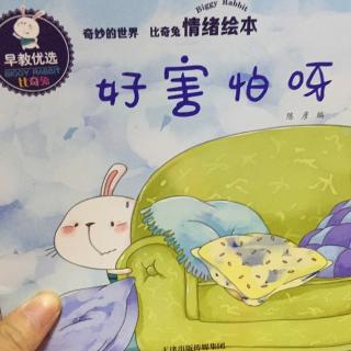 依故事读妈咪情绪绘本比奇兔宝宝绘本《好害怕呀》鸽子缺鸽乳怎么办图片