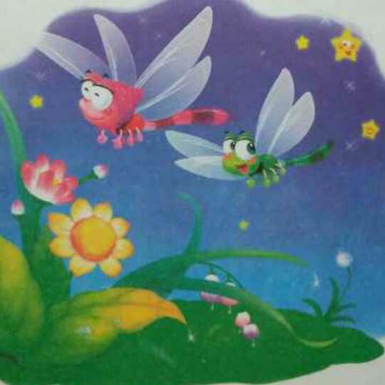 动物故事(41)小蜻蜓的第一堂课