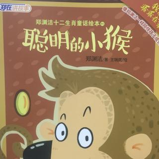 郑渊洁十二生肖童话绘本(聪明的小猴)图片