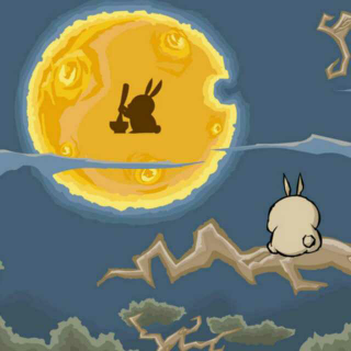 故事录—玉兔捣药的传说(中秋节神话)