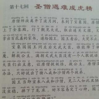 【西游记 第十七回 圣僧遇难成虎精】在线收听