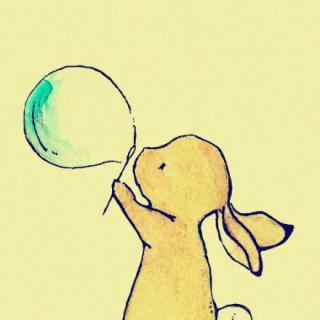 微信头像可爱呆萌小兔子