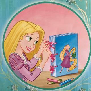 乐佩的故事书(长发公主的故事)图片
