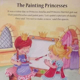 画画的公主painting princesses