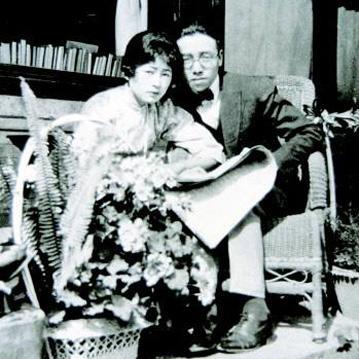 1920年4月,林徽因和父亲一起游历欧洲.图片