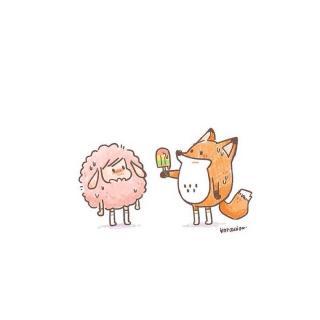 小狐狸和小兔子