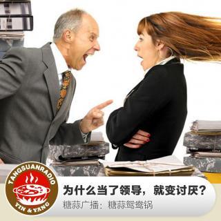 糖蒜鸳鸯锅:为什么当了领导,就变讨厌?