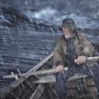 朗诵《老人与海》