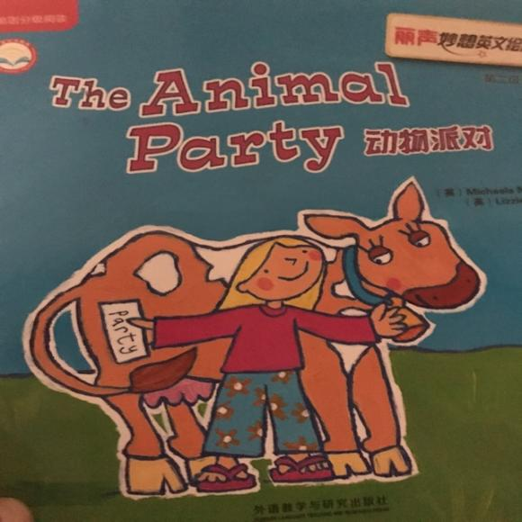 the animal party 动物派对