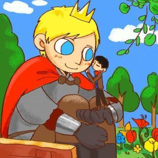 """他见到孩子们在花园里玩耍,很生气:""""谁允许你们到这儿来玩的!图片"""