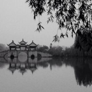 沿河最著名的风景是小金山,法海寺,五亭桥;最远的便是平山堂了.
