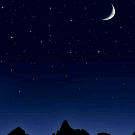 月亮和星星图片