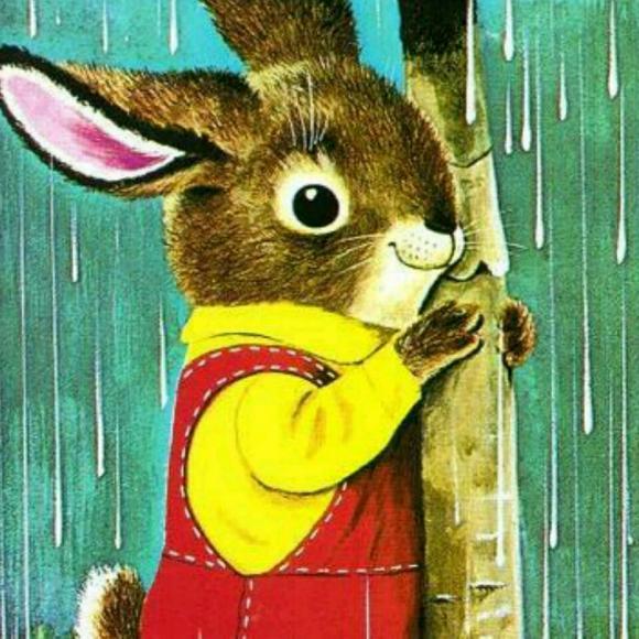 我看着许多小动物们都在为即将到来的冬天做准备.