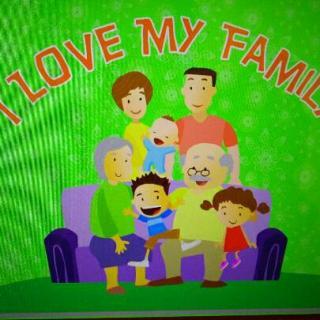 myfamily_pop baby1 i love my family预习