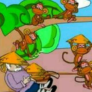 小故事《猴子学样》 卢芊彤妈妈图片