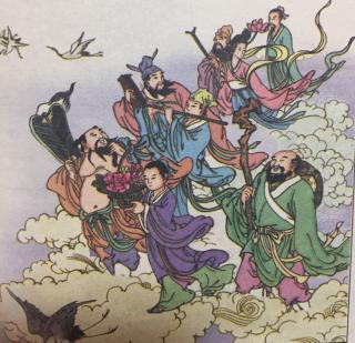 《成语故事:八仙过海&百步穿杨&鞭长莫及》