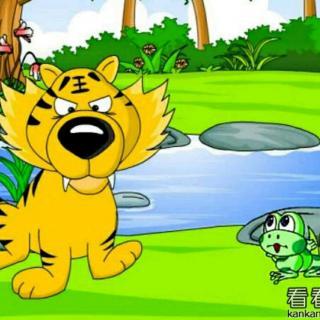 第31期合田中心幼儿园睡前故事《老虎和青蛙》