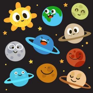 太阳和地球的大家族--太阳系图片