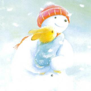 小百灵幼儿园绘本故事《雪孩子》