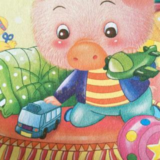 华夏爱婴睡前故事《小花猪的树叶手绢》图片