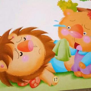 王堤头幼儿园黄老师睡前故事《懒狮子饿死了》