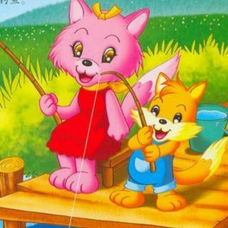 小猫房子卡通图片