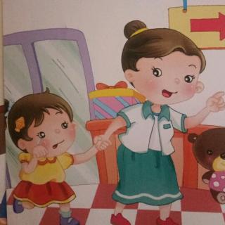 教师妈妈黄_王堤头幼儿园黄老师睡前故事《寻找商场里的妈妈》